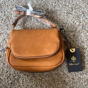 Moda Luce crossbody purse, tan, NWT